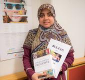Alaa Mohamed er lærer i Religionsfag og Barn-ungdom og samfunnsfag.